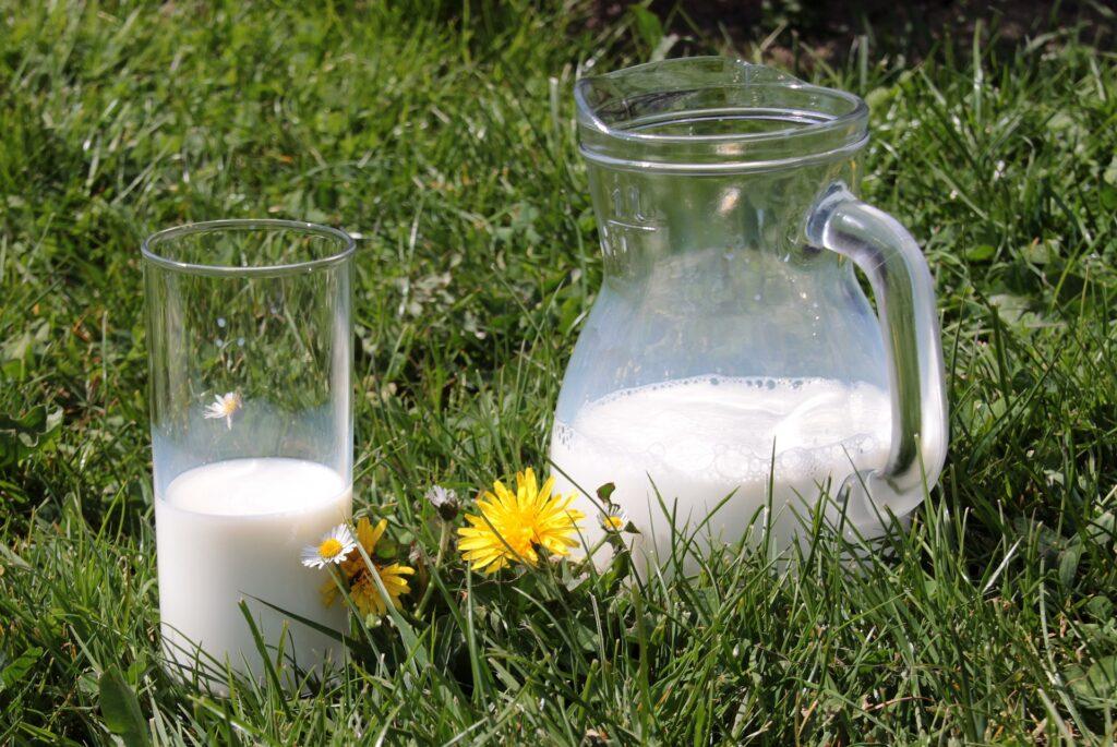 surowe mleko