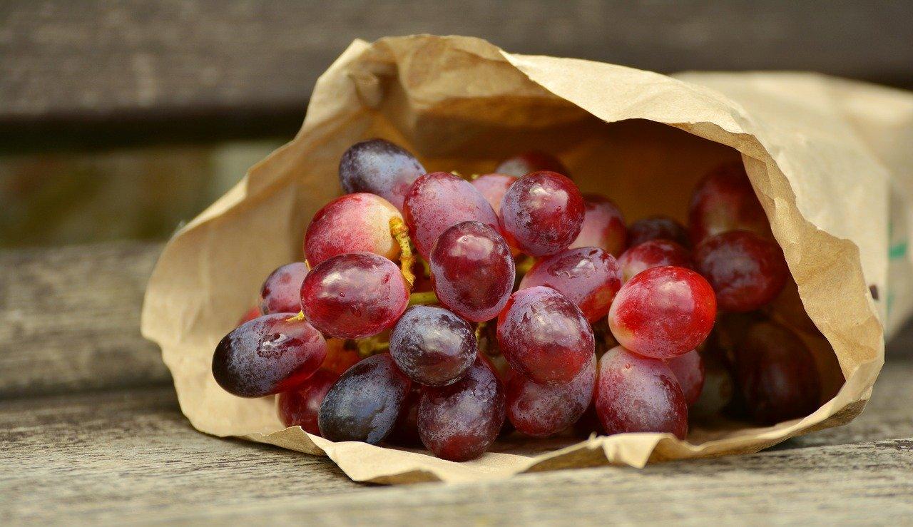 Winogrona dla pięknej, zdrowej skóry
